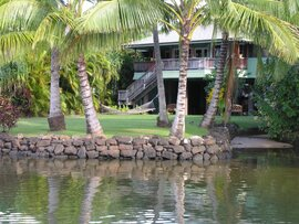 Wailua Beach & River House on Kauai. A Hawaiian Retreat!