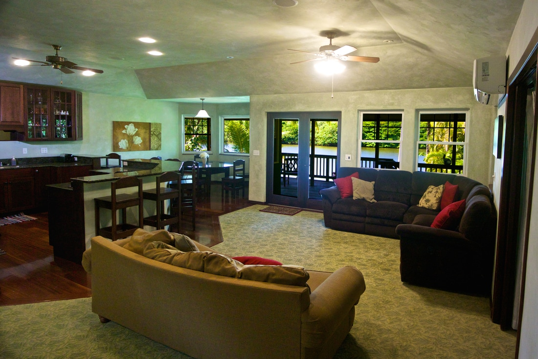 Relax in this Kauai Vacation Rental on the Wailua BEACH and Wailua RIVER. Hawaii is calling you!