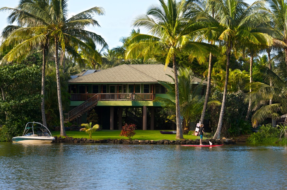 My Favorite Vacation Rental in Hawaii! I love staying on the Wailua BEACH and RIVER. Best Kauai Vacation Ever!